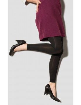 GOGO by Therafirm Black Compression Footless Tights