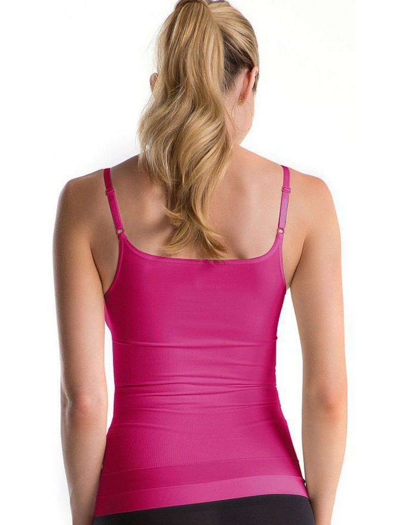 Assets by Spanx Red Hot Label Sleek Slimmers Camisole in Azalea