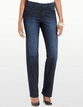 NYDJ - Marilyn Jeans in Dana Point with Embellished Pockets *10227DP1085