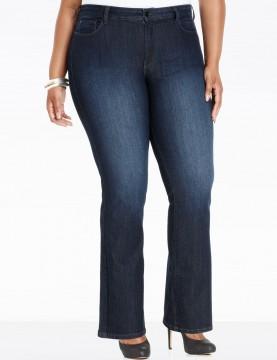 NYDJ - Plus Petite Barbara Bootcut Jeans in Burbank Wash*WP10Z1078