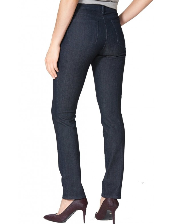 NYDJ - Samantha Slim Leg Jeans in Dark Enzyme - *M10I90T