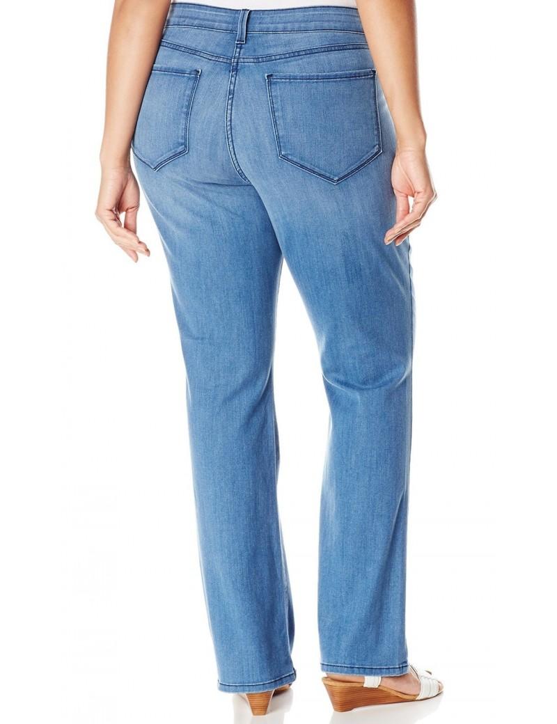 NYDJ - Plus Barbara Bootcut Jeans in Newberry Wash*W44Z1078