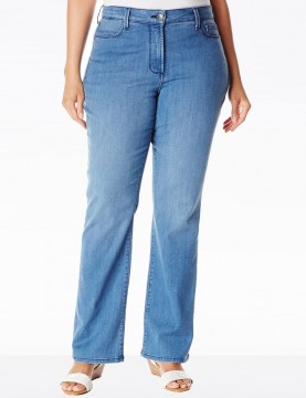 NYDJ - Plus Barbara Bootcut Jeans in Newberry Wash*W44Z1078