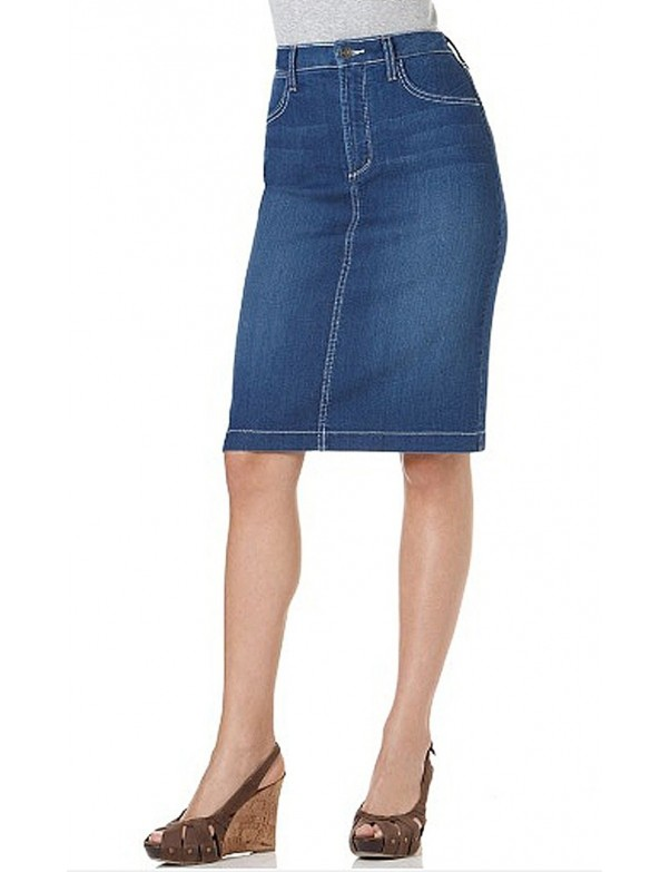 NYDJ - Emma Denim Pencil Skirt in Moroccan Wash *25061CS