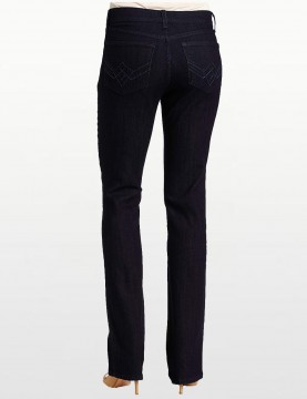NYDJ - Marilyn Jeans in Dark Wash with Embellished Pockets *10227T884