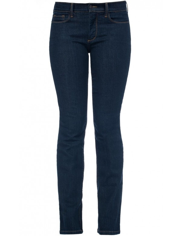 NYDJ - Marilyn Blue Black Straight Leg Jeans *731