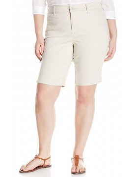 NYDJ - Christy Shorts in Clay - Plus *W77Z1936