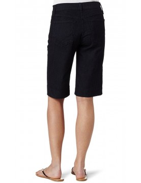 NYDJ - Hannah Walking Shorts in Black Enzyme Wash *28669T3042