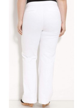 NYDJ - Bootcut Trousers in White for Petites *1544