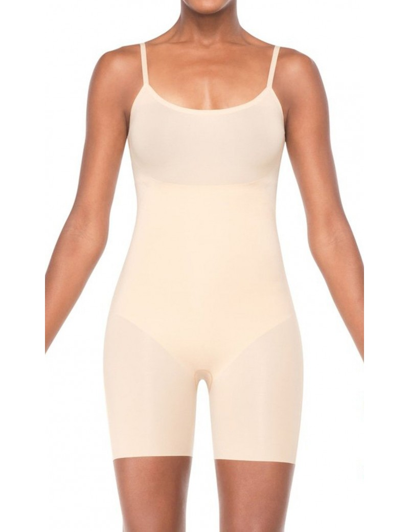 Spanx - Trust Your Thinstincts Mid Thigh Bodysuit - Style 2217