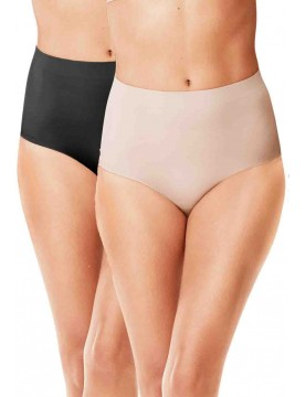 Warner's - Blissful Benefits No Muffin Top 3 Pack Brief Panty