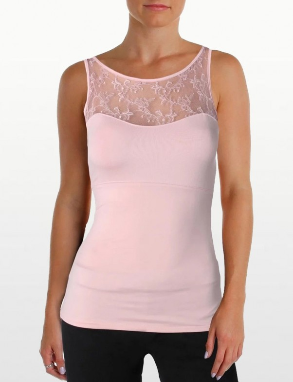 Spanx Hide and Sleek Lace Bateau Camisole - Style 1503