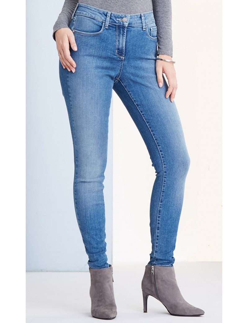 NYDJ - Ami Super Skinny Jeans in Helton Wash with Embellished Pockets *M66J28H74278