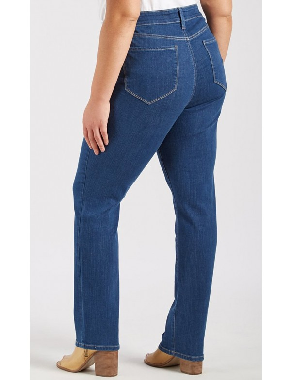 NYDJ - Marilyn Straight Leg Jeans in Summit Wash Plus - * WAFN1077