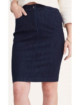 NYDJ - Emma Denim Skirt in Dark Wash *M17Z1872F