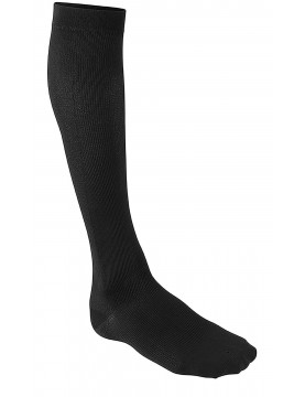 Mens Black Compression Socks for Travel