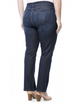 NYDJ - Marilyn Straight Leg Jeans in Hollywood Wash  *W10Z1077