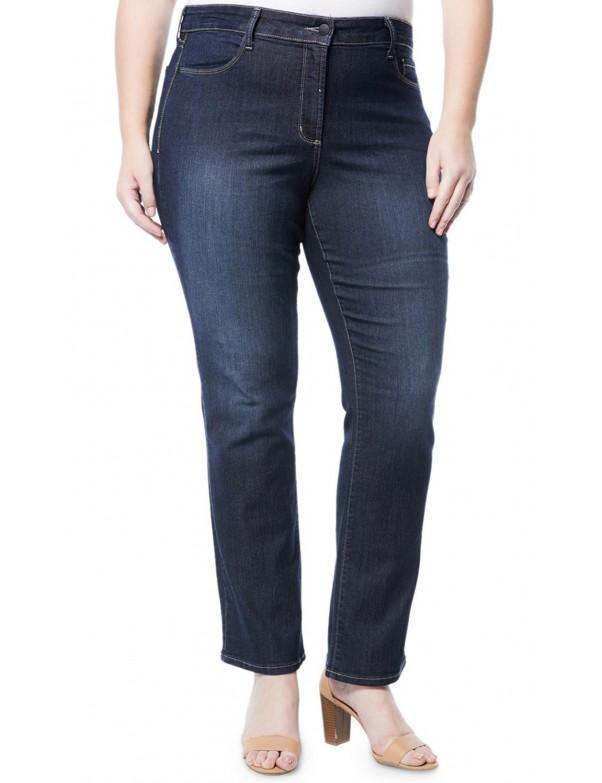 NYDJ - Marilyn Straight Leg Jeans in Hollywood Wash  *W10Z1077