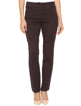 NYDJ - Sheri Slim Leg Jeans in Super Scultping Denim Pumpernickel *M38Z1076