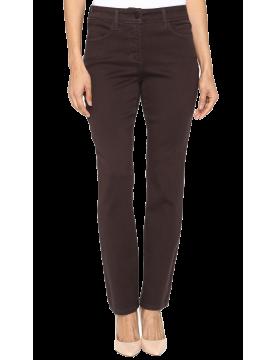 NYDJ - Sheri Slim Leg Jeans in Super Scultping Denim Pumpernickel *M38Z1076