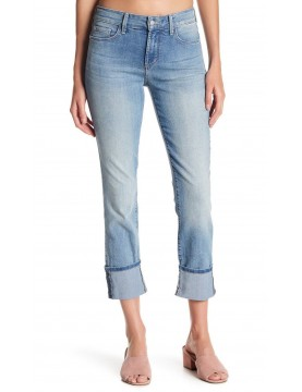 NYDJ - Lorena Skinny Cuffed Boyfriend Jeans in Manhattan Beach Wash *M10Z1458