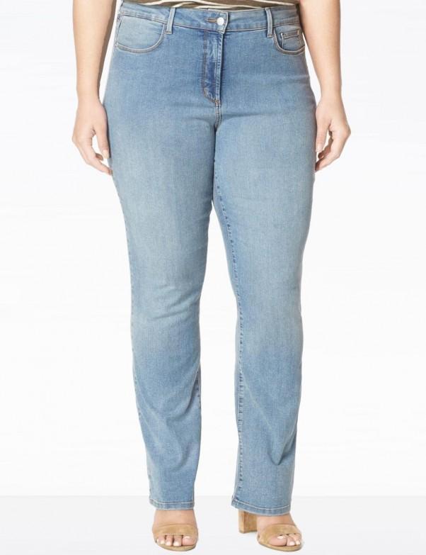 NYDJ - Billie Mini Bootcut Jeans in Earlington Wash ( Plus ) *W10Z1088