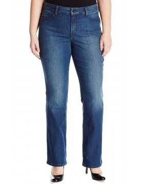 NYDJ - Barbara Bootcut Jeans in Nottingham Wash - Plus *