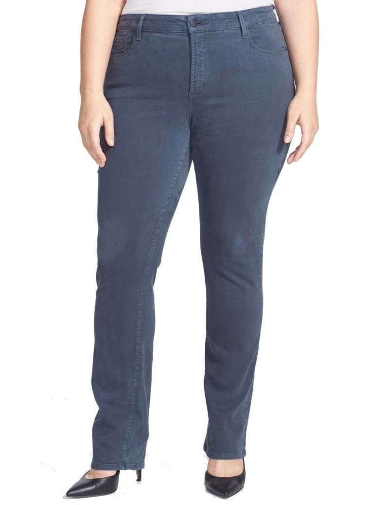 NYDJ - Marilyn Straight Leg Jeans in Eclipse - Plus *W46J31DT4054