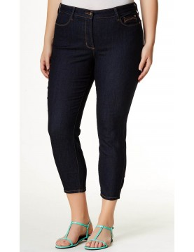 NYDJ - Clarissa Ankle Jeans in Dark Wash - Plus *W10Z1085