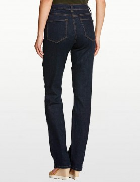 NYDJ - Marilyn Straight Leg Jeans in Blue Black Denim *731