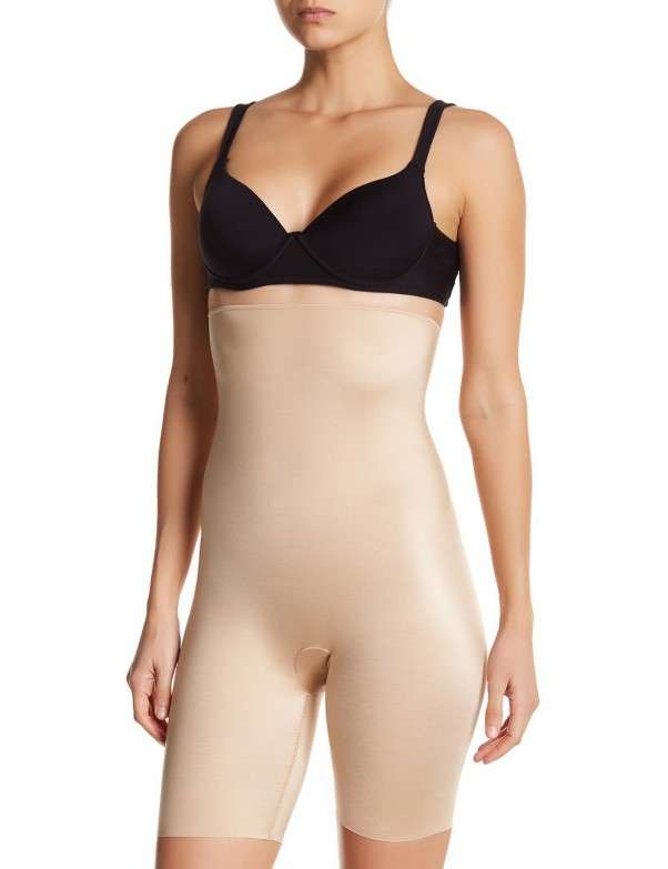 Spanx - Slimplicity High Waisted Mid Thigh Shaper - Style 3941