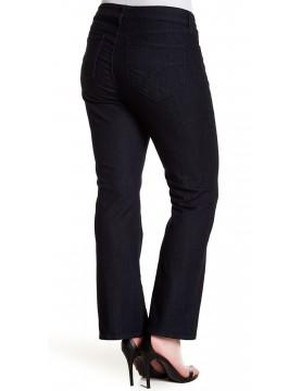 NYDJ - Barbara Bootcut Jeans in Dark Wash - Plus Petite*10232T2087