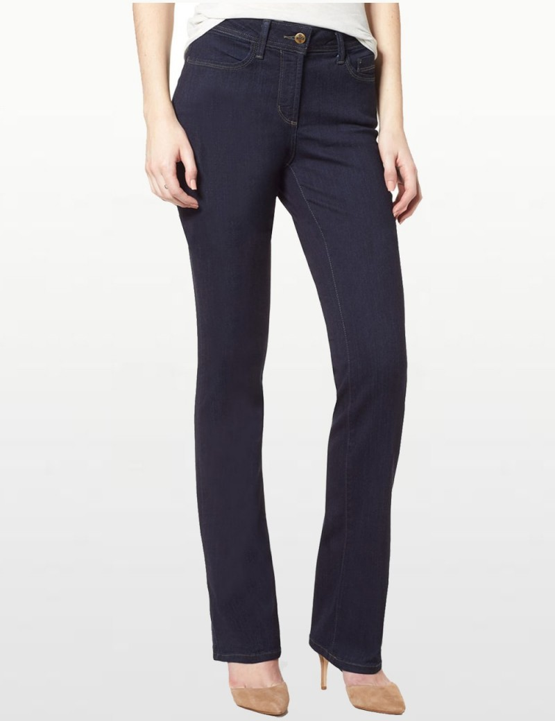 NYDJ - Billie Mini Bootcut Jeans in Sure Stretch Denim Mabel Wash *MAER1435XL - Tall
