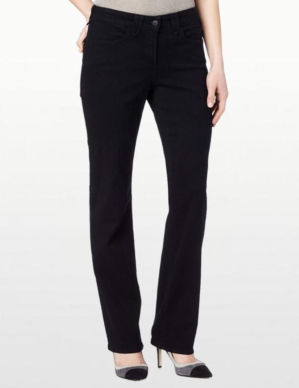 NYDJ - Hayden Straight Leg Jeans in Black *4063B
