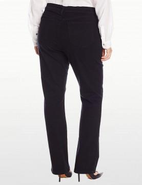NYDJ - Marilyn Straight Leg Jeans in Blue or Black in Plus *W431B - W431L