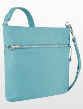 Travelon - Anti-Theft Slim Tailored Crossbody Bag in Aquamarine