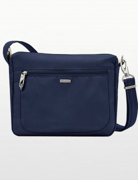 Travelon - Anti-Theft Classic  Crossbody Bag in Blue