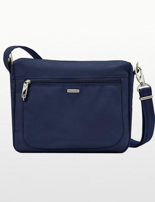 Travelon - Anti-Theft Classic  Crossbody Bag in Blue