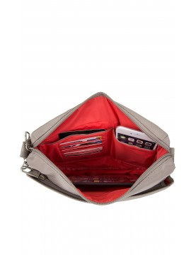 Travelon - Anti-Theft Classic Crossbody Bag in Wine