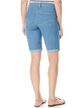 NYDJ - Briella Rolled Cuff Shorts in Milwaukee Wash