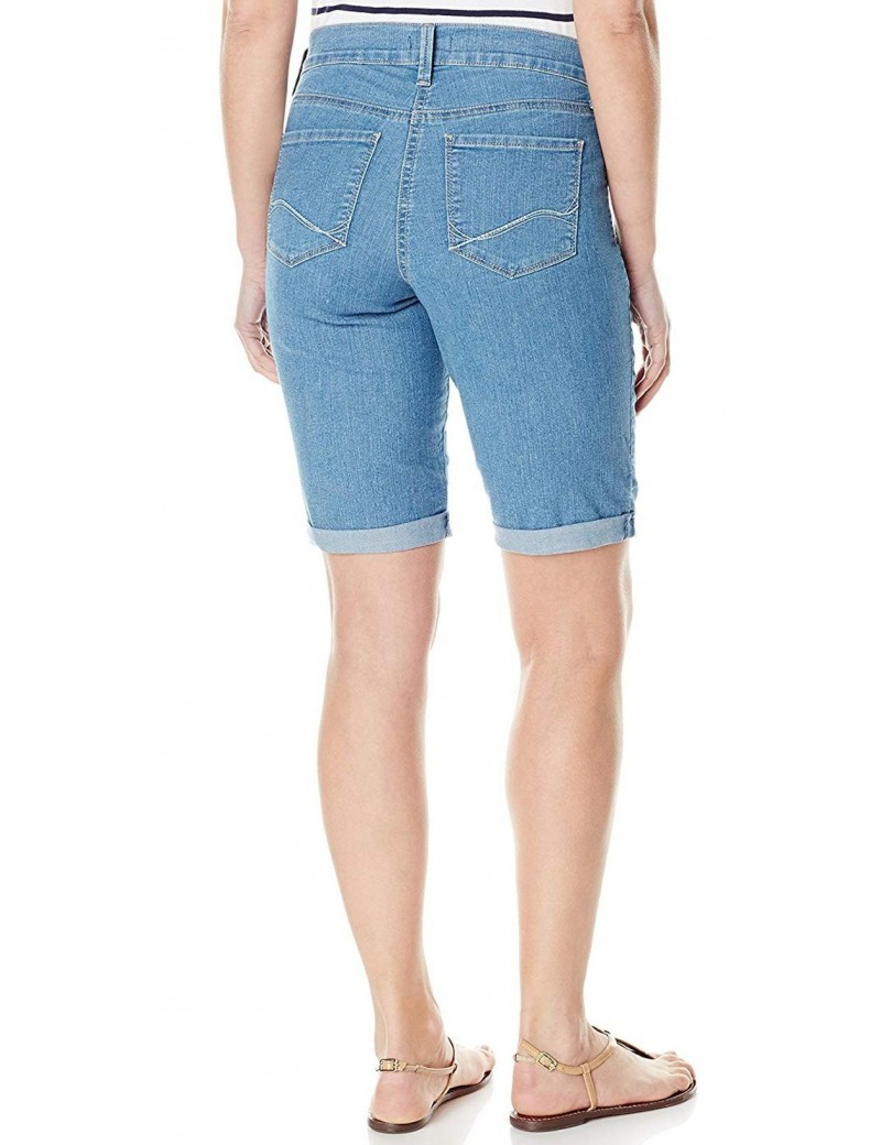 NYDJ - Briella Rolled Cuff Shorts in Milwaukee Wash