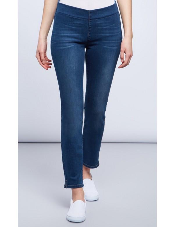 NYDJ - Alina Pull-On Ankle Pants Seabreeze Future Fit Denim *MARJ1243