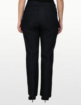 NYDJ - Marilyn Straight Leg Jeans in Dark Wash - Plus *W10K43T4338