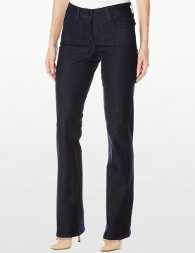 "NYDJ - Barbara Bootcut Jeans in Dark Wash with 31"" Inseam *10656T"