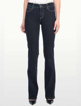 NYDJ - Barbara Bootcut Jeans in Blue Black Denim *47232