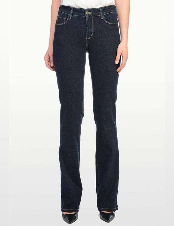 NYDJ - Barbara Bootcut Jeans in Blue Black *47232