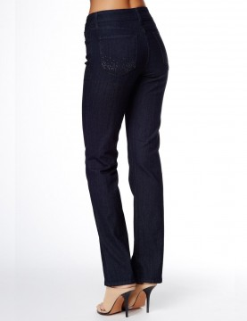 NYDJ - Marilyn Dark Wash Jeans with Embellishments *10227T3386