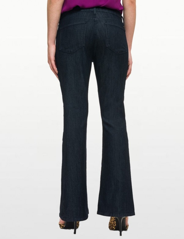 NYDJ - Farrah Flares in Dark Wash *M10P14T