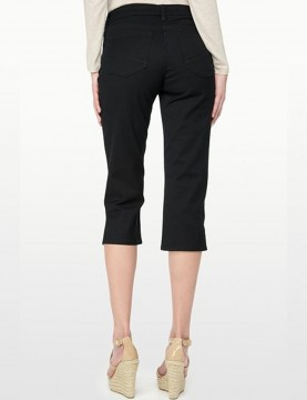 NYDJ - Hayden Straight Leg Capri's in Black or Dark Wash *M77H33DT /  M10H33T