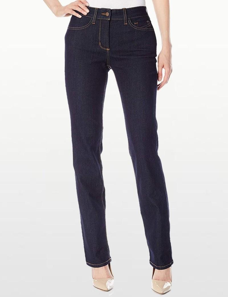 NYDJ - Marilyn Straight Leg Jeans in Dark Wash  *M10K43B4337